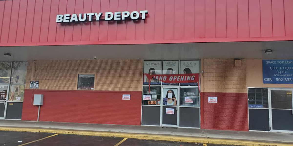 West Louisville beauty store temporarily closes one week after opening due to break-in