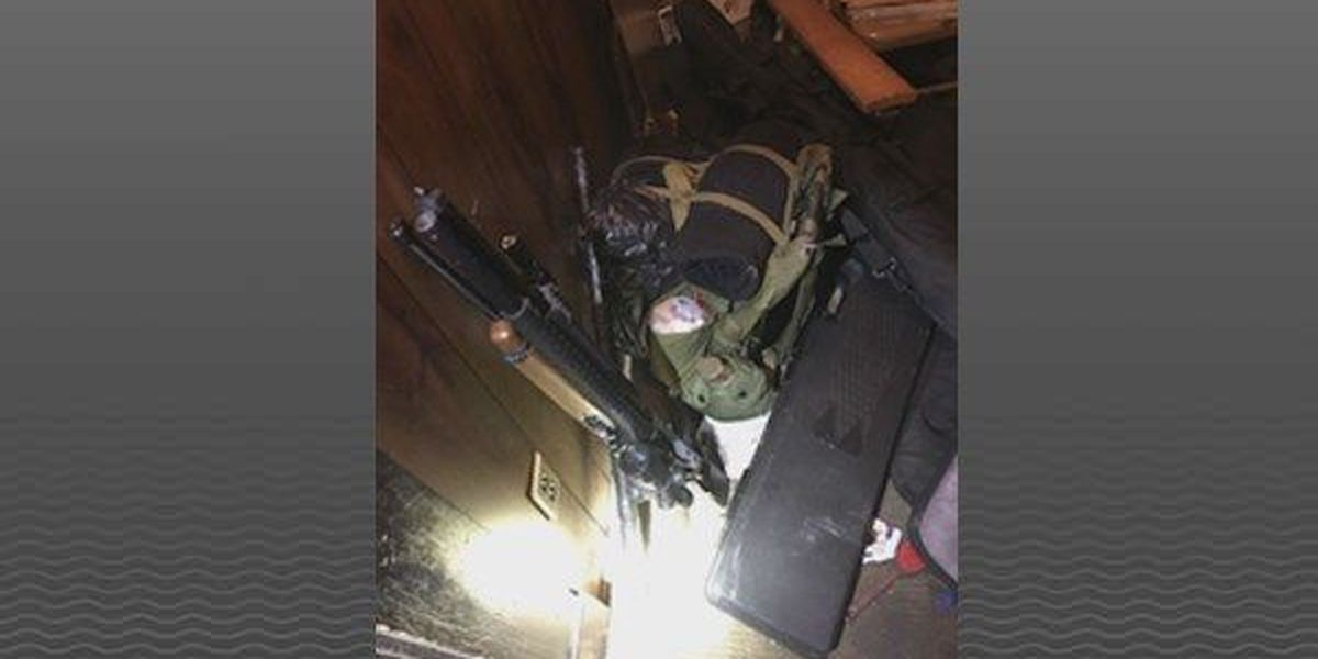 Guns removed from home of man accused in Indiana church threat