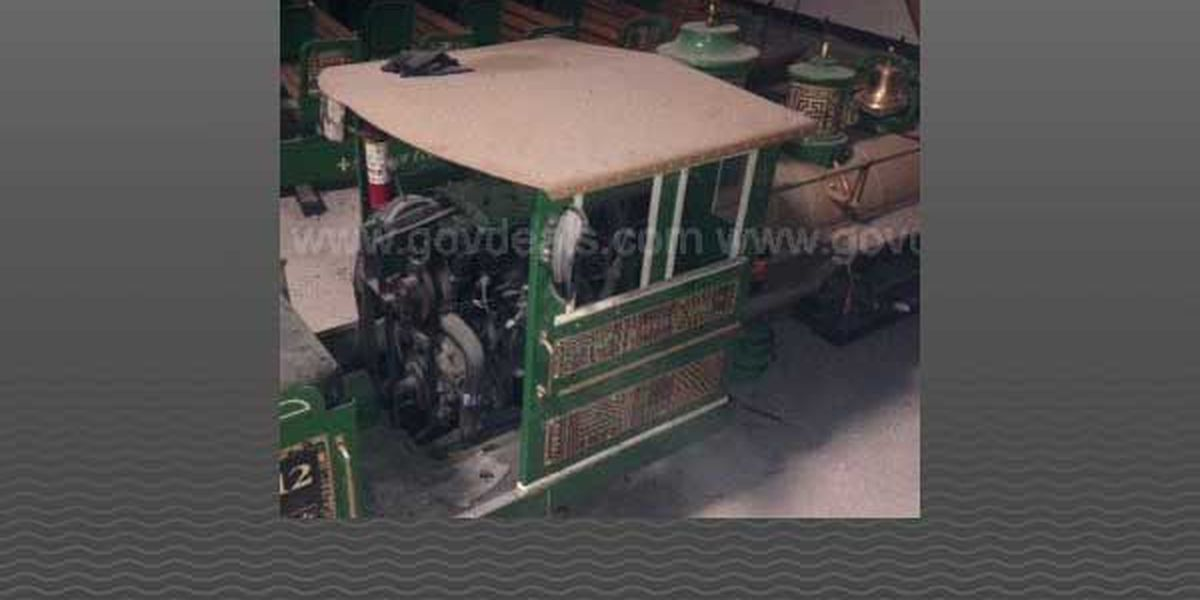 Zoo train from 2009 derailment up for auction