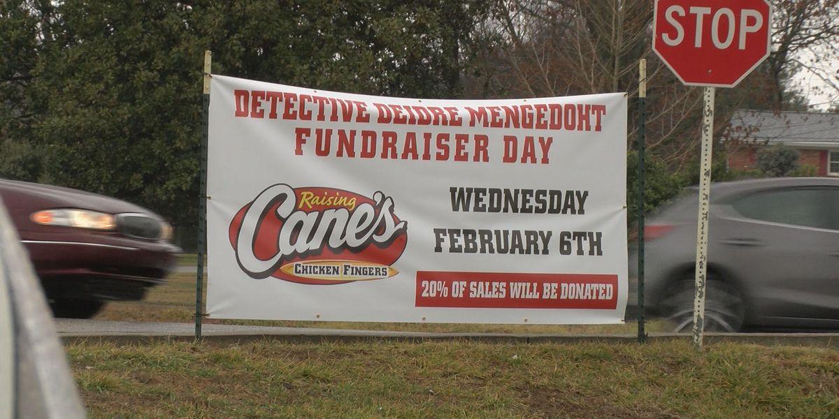 Raising Cane's raises funds for family of fallen LMPD detective