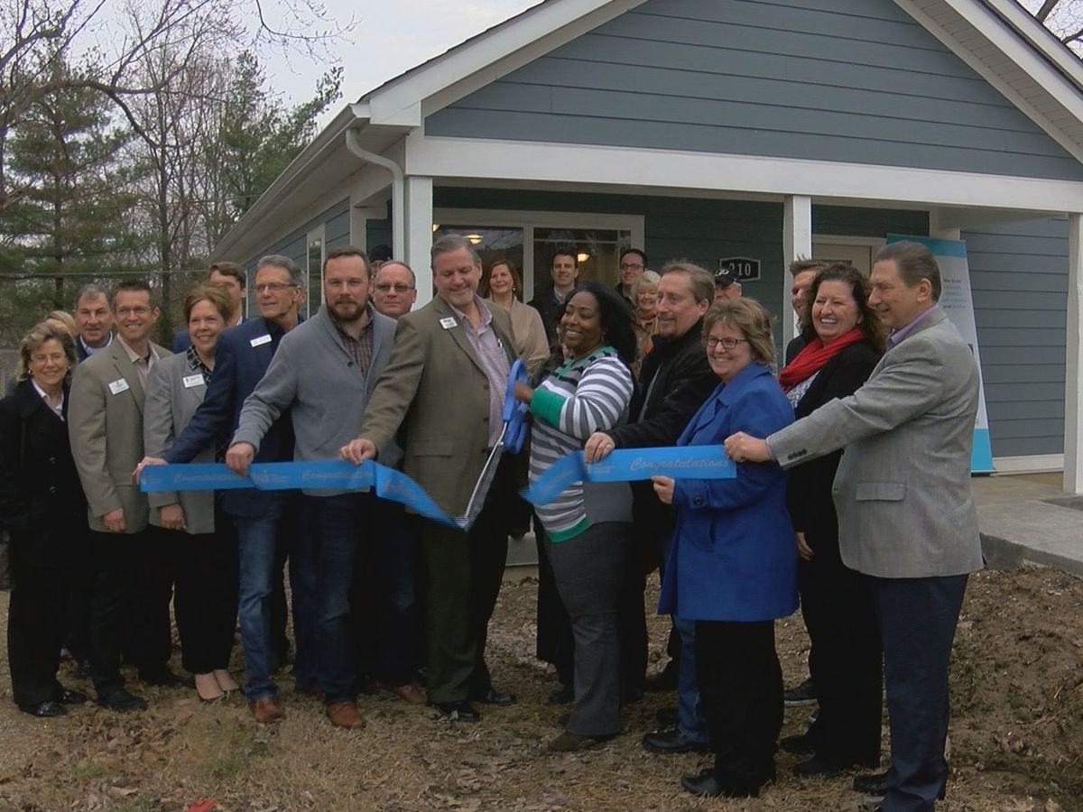 Dedication held for New Albany Habitat home