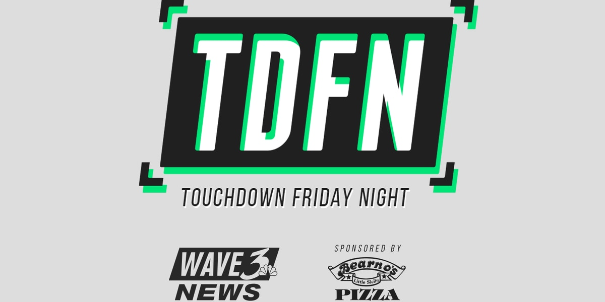 Touchdown Friday Night: Oct. 23 schedule