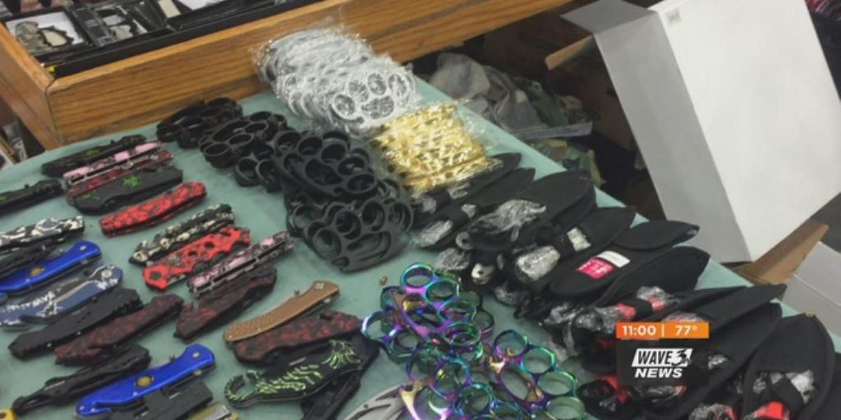 Despite WAVE 3 News report, weapons still being sold to teens at KY State Fair
