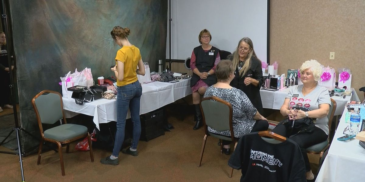 Volunteers give makeovers to Brown Cancer Center patients