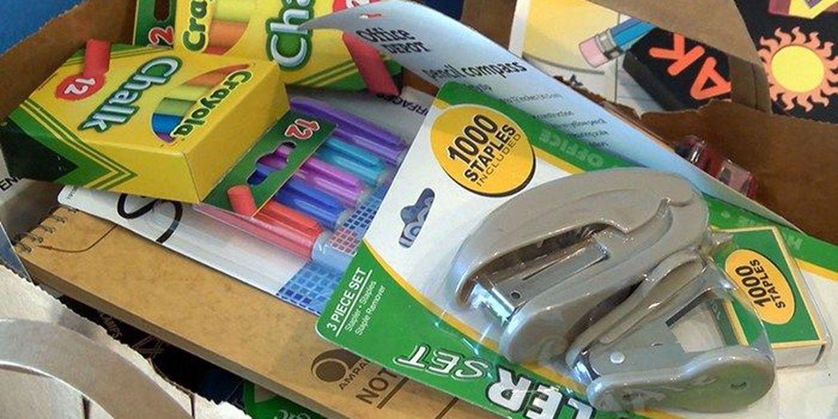 Clarksville Community Schools pack the bus initiative begins