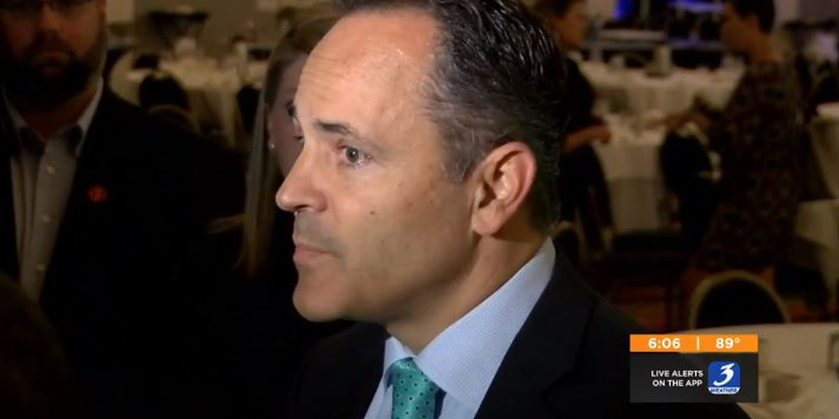 Bevin weighs in on Matt Jones as a senator: 'Remarkably ill-equipped'