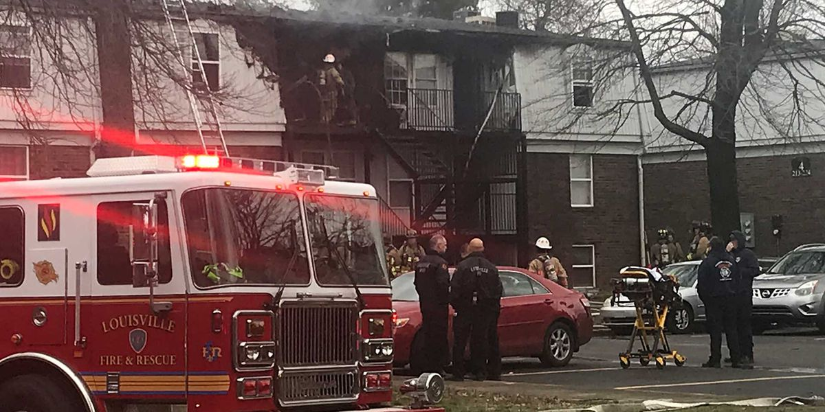 Days after mother and son are killed, fire breaks out again at same apartment complex
