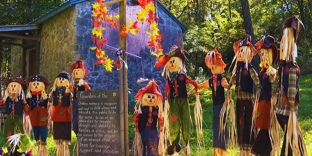 Ninth annual scarecrow trail open at Lost River Cave