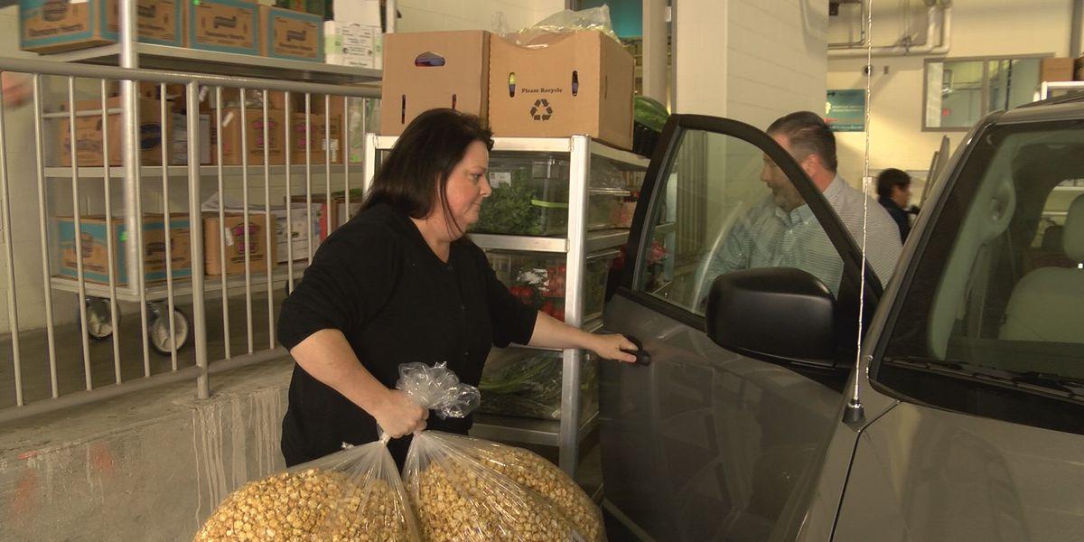 Omni Hotel donates perishable food to those in need