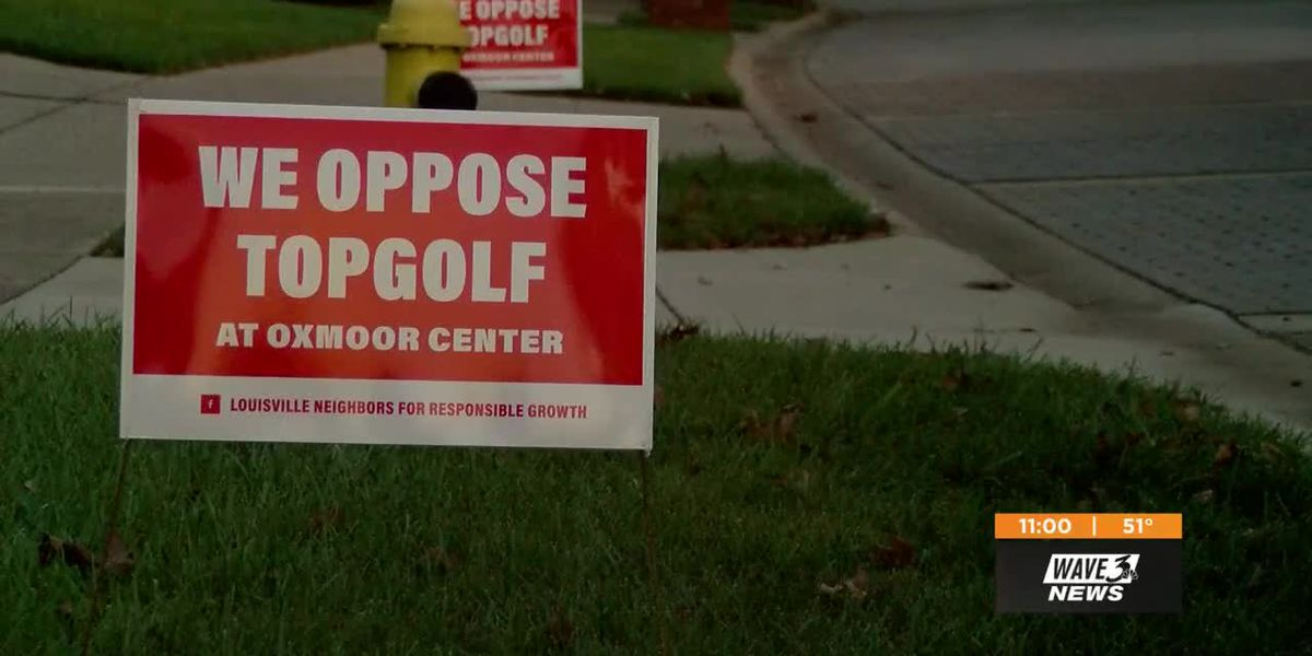 Neighbors against Topgolf at Oxmoor hope for location change