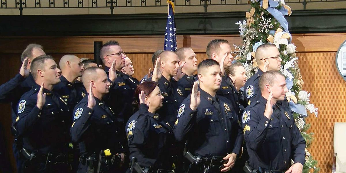 LMPD promotes 29 officers