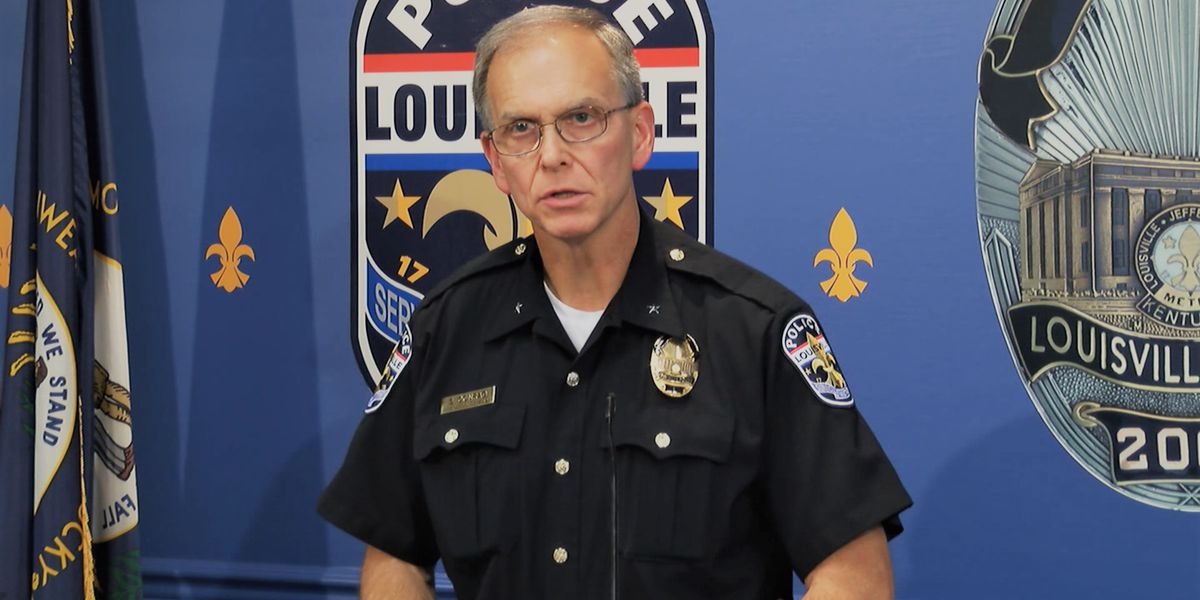 Former LMPD Chief Conrad said he was 'surprised' to see Hankison at hospital following shooting