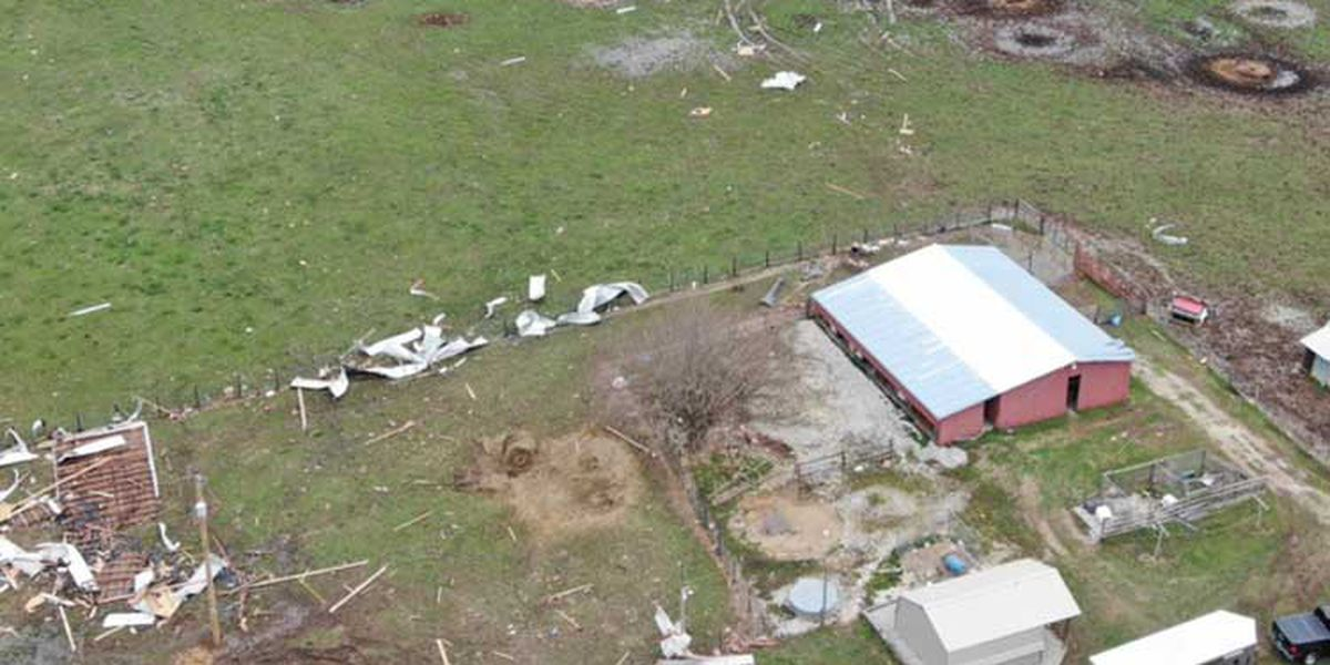 Tornado touchdowns confirmed in LaRue, Grayson counties