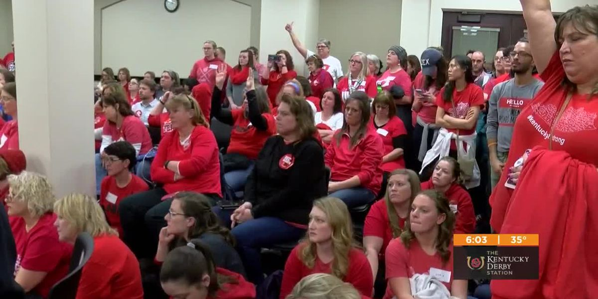 New plan would allow JCPS teachers to protest in Frankfort without shutting down schools