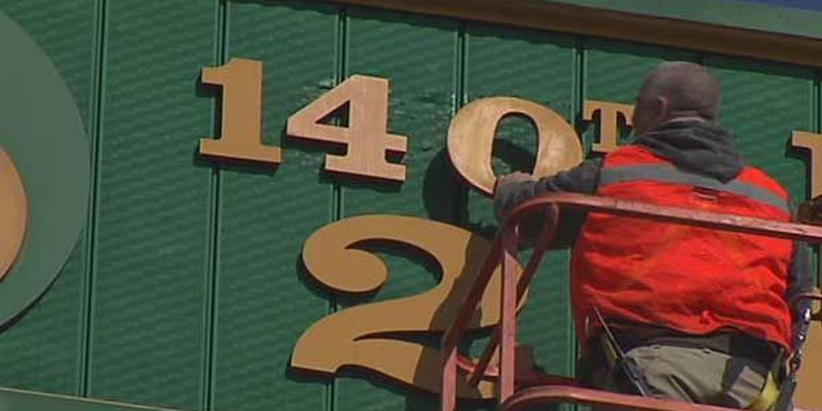 Racetrack signs get annual makeover