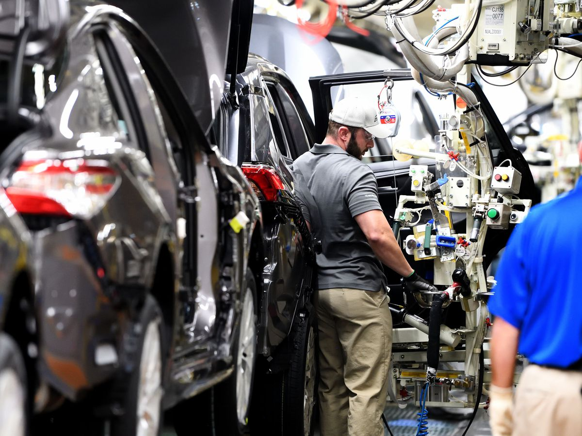 Toyota Motor Manufacturing Kentucky begins production of RAV4 hybrid