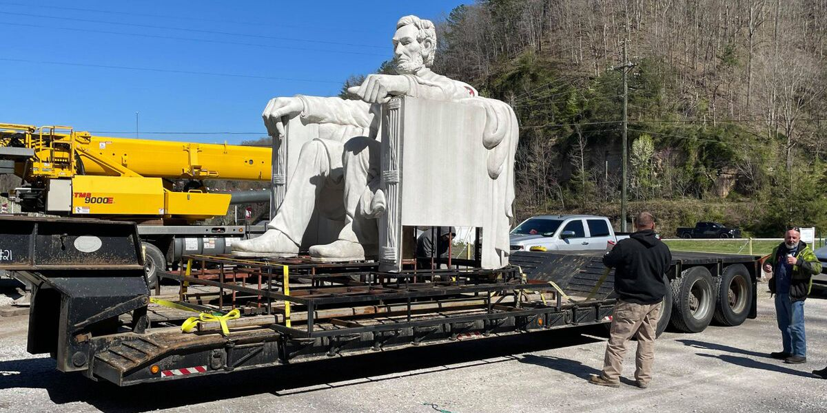 Lincoln statue in Kentucky moved to Civil War battlefield