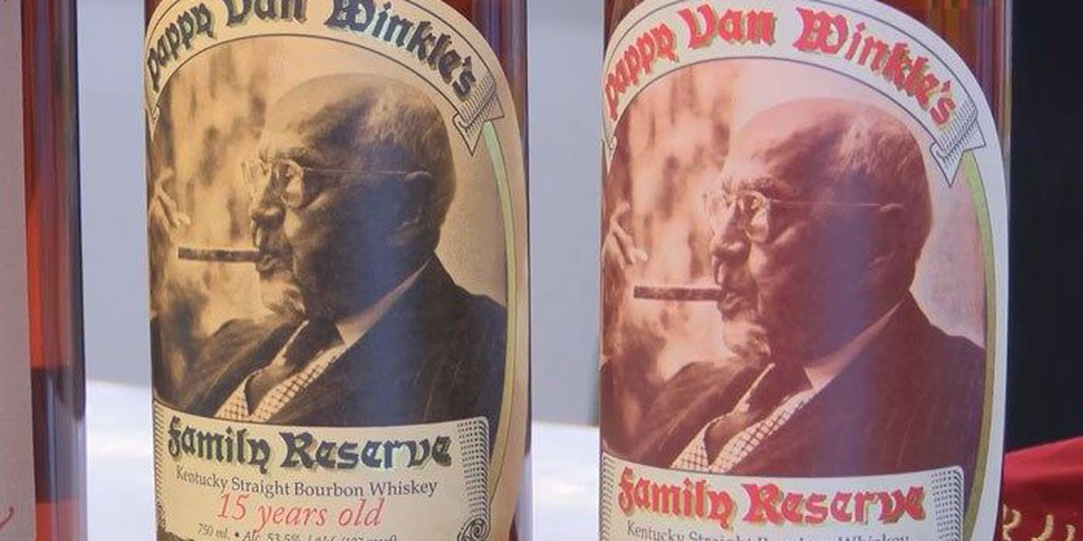 For $10 you could win 5 bottles of Pappy Van Winkle
