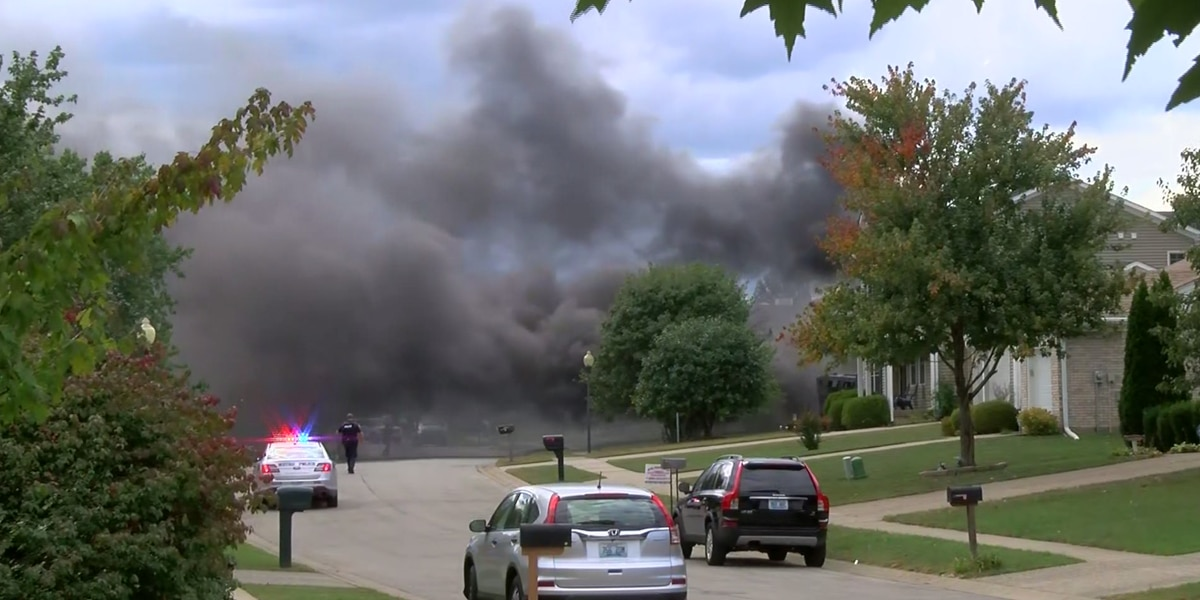 Man dead after nearly day-long standoff ends in house fire