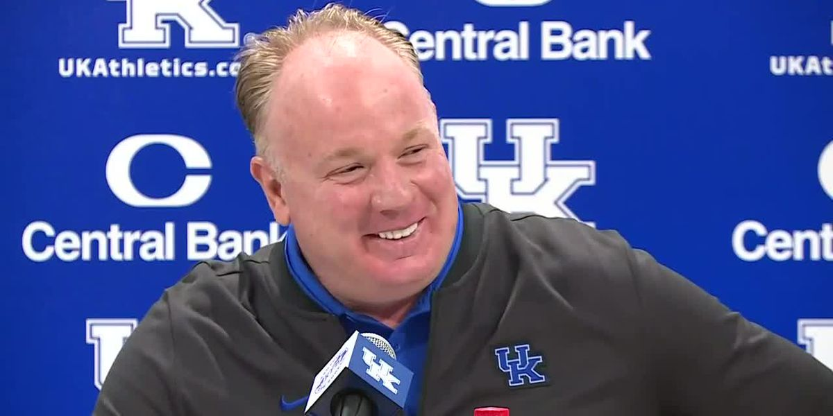 Mark Stoops Oct. 14 news conference