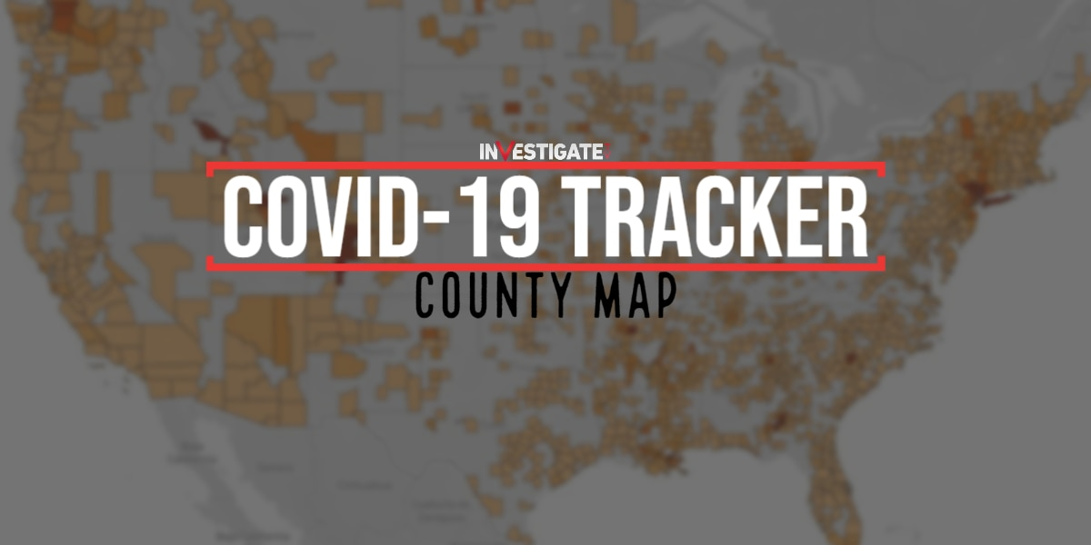 County-by-county COVID-19 tracker