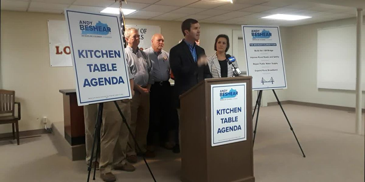 Beshear announces more of his 'Kitchen Table Agenda' in Henderson