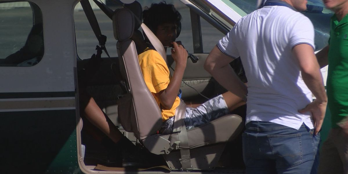 Students fly high during Louisville aviation camp