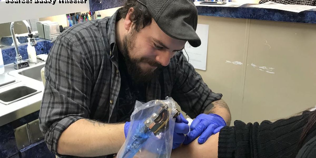Local tattoo studio donates protective gear to hospitals