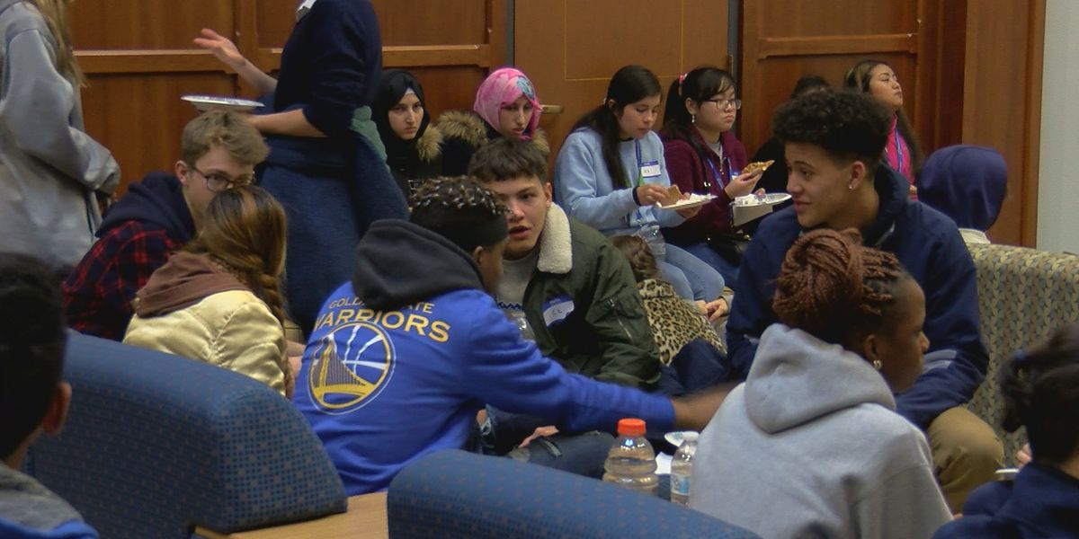 Newcomer Academy students visit Louisville Collegiate School