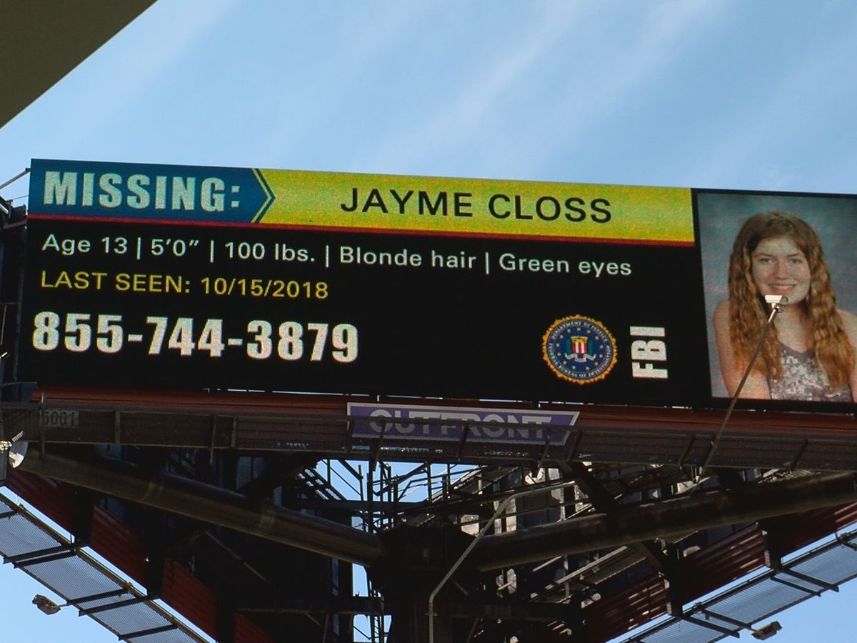 Billboard for missing Wisconsin girl appears near Slugger Field