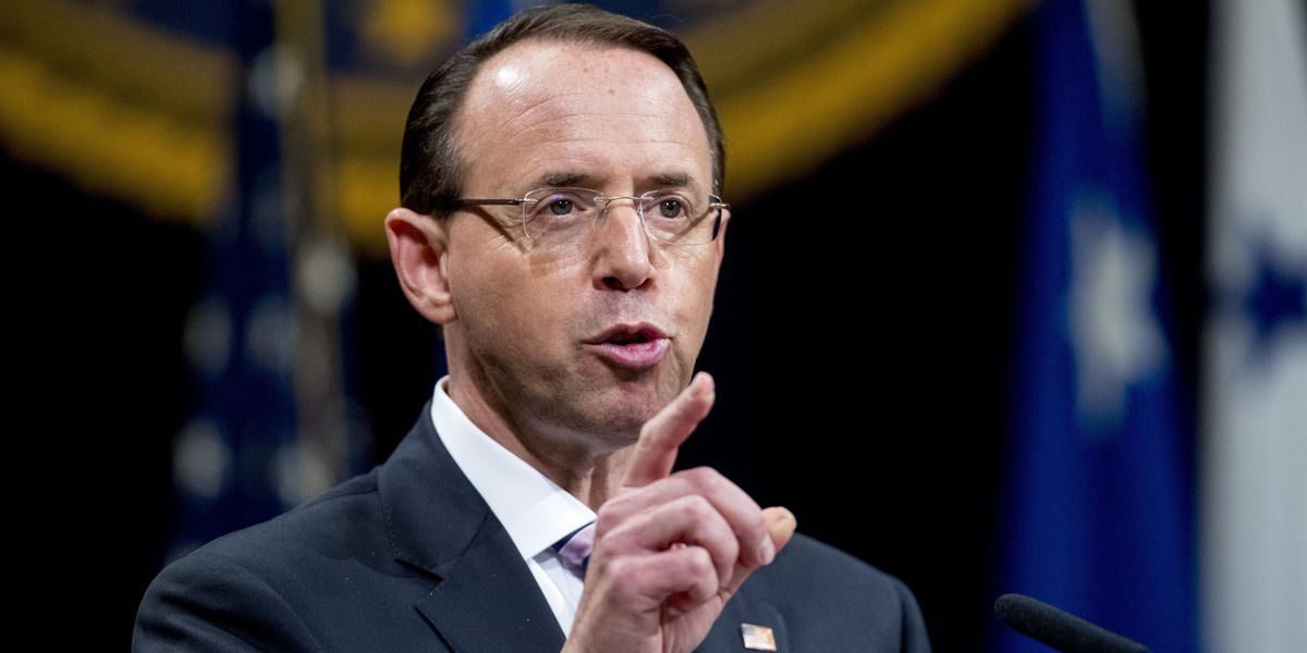Rosenstein to face Senate GOP grilling on Russia probe