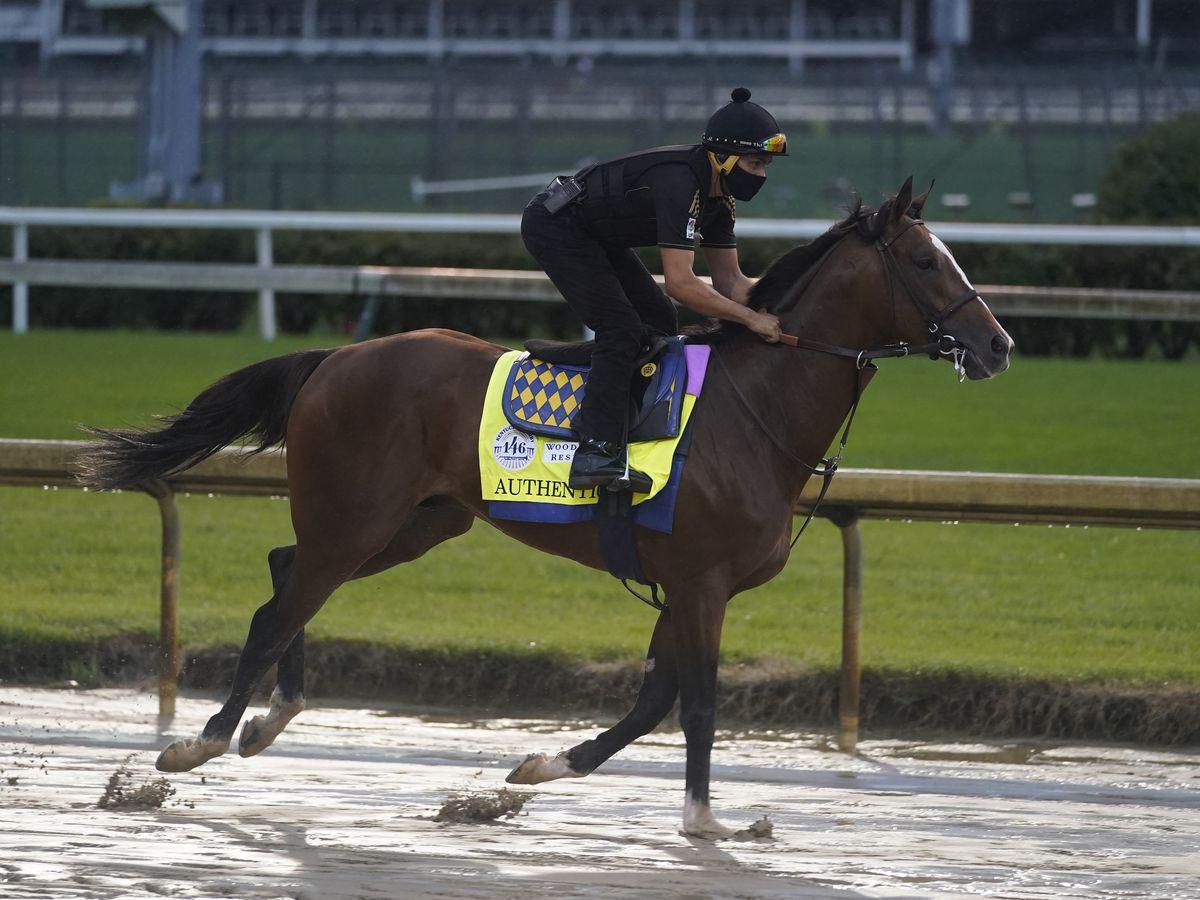 Kentucky Derby winner Authentic is 9-5 morning line favorite in Preakness Stakes