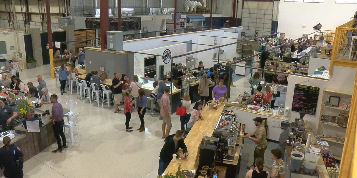 Logan Street Market opens to the public