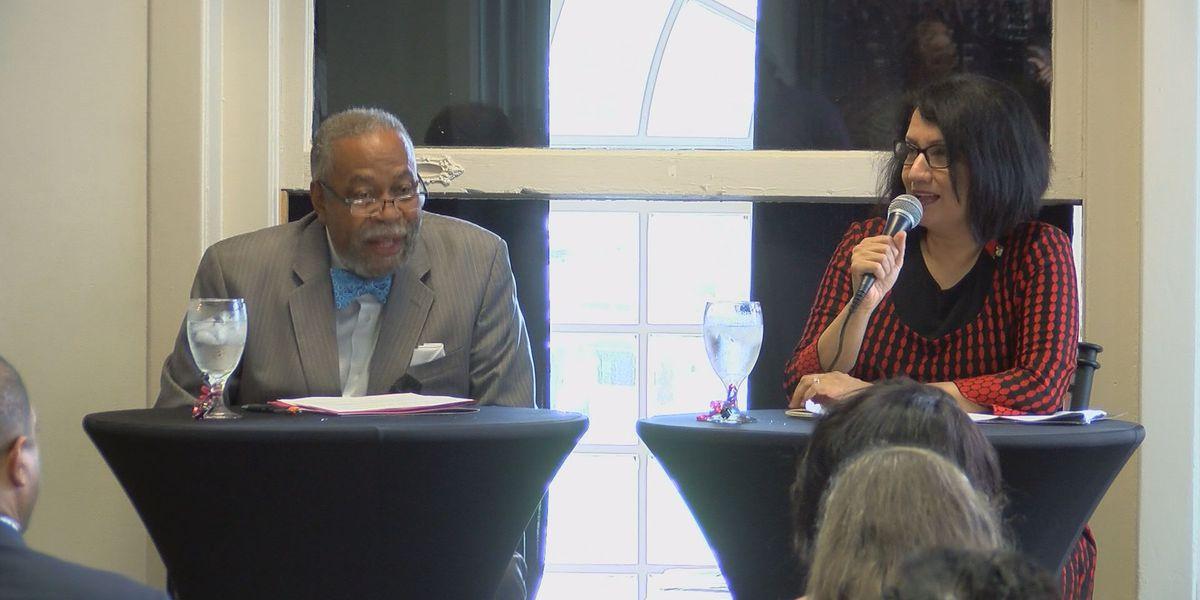 UofL President Neeli Bendapudi meets with West Louisville community to talk partnership