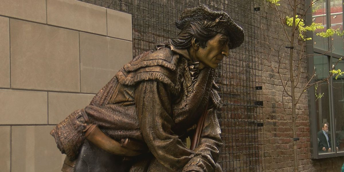 Frazier Museum displays statue commissioned for Pleasureville distillery