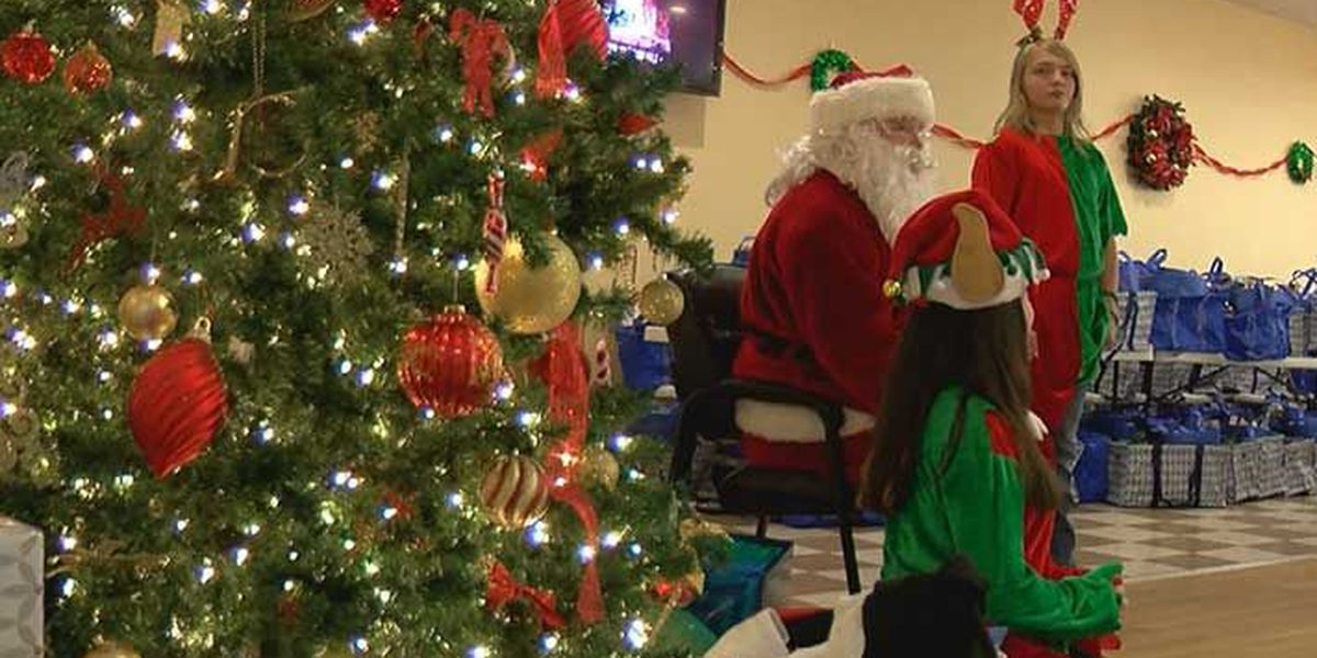 Local military families receive Christmas gifts early