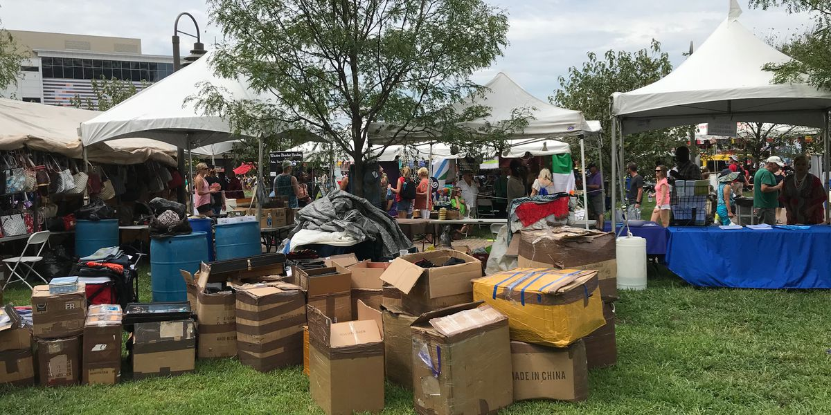 Metro ABC officers make large bust of counterfeit merchandise at WorldFest