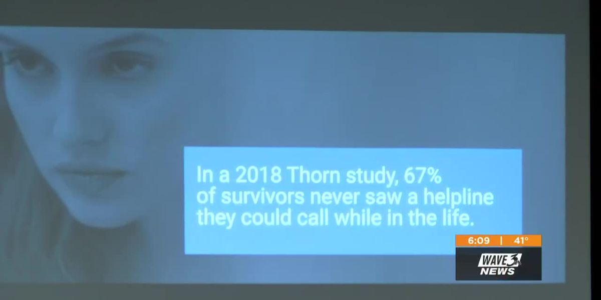 Louisville human trafficking event raises awareness