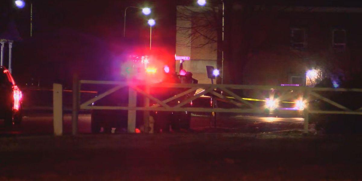 Officer hit, police cruiser window shattered