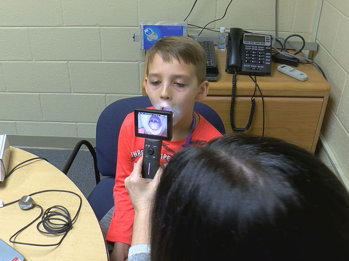 Telehealth technology connects elementary school students to doctors online