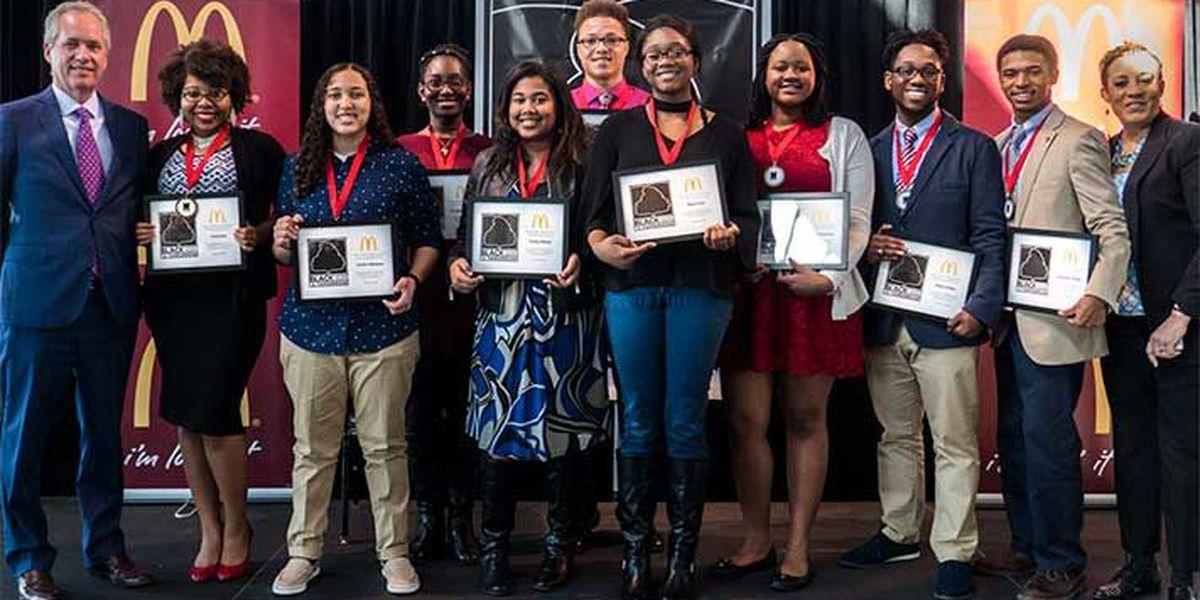 McDonald's honors Black History Makers of Tomorrow