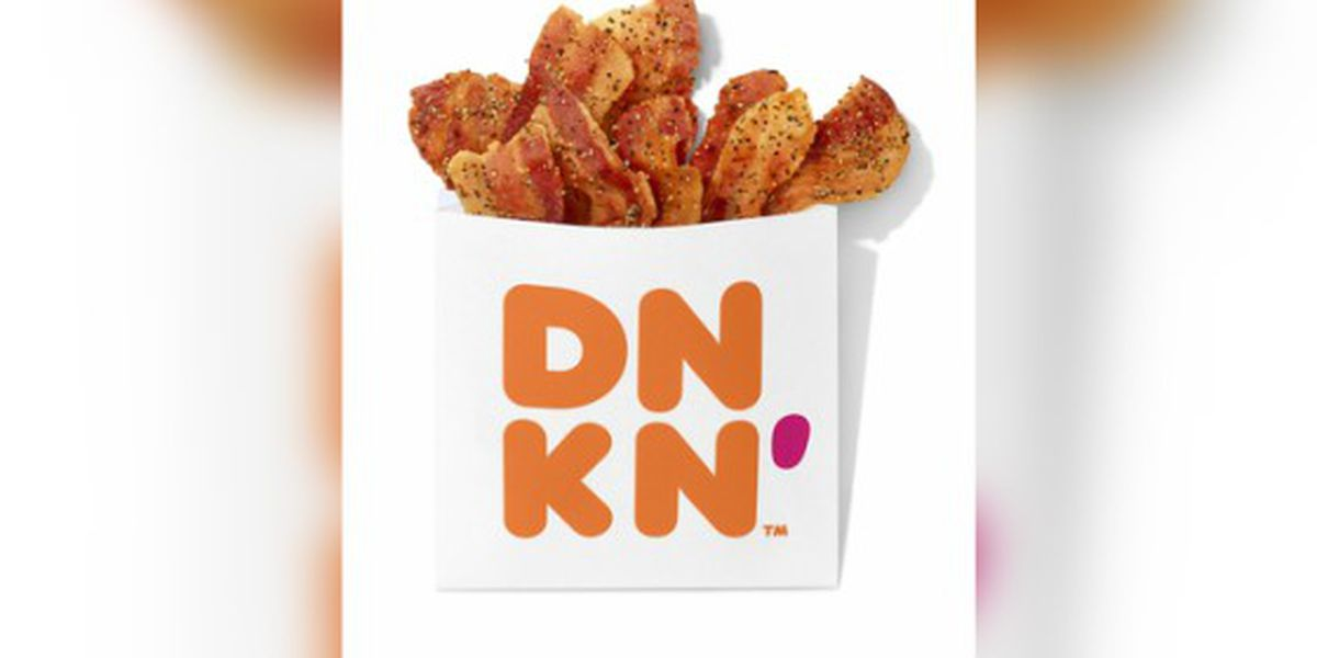 Dunkin' sells bags of bacon at its restaurants nationwide