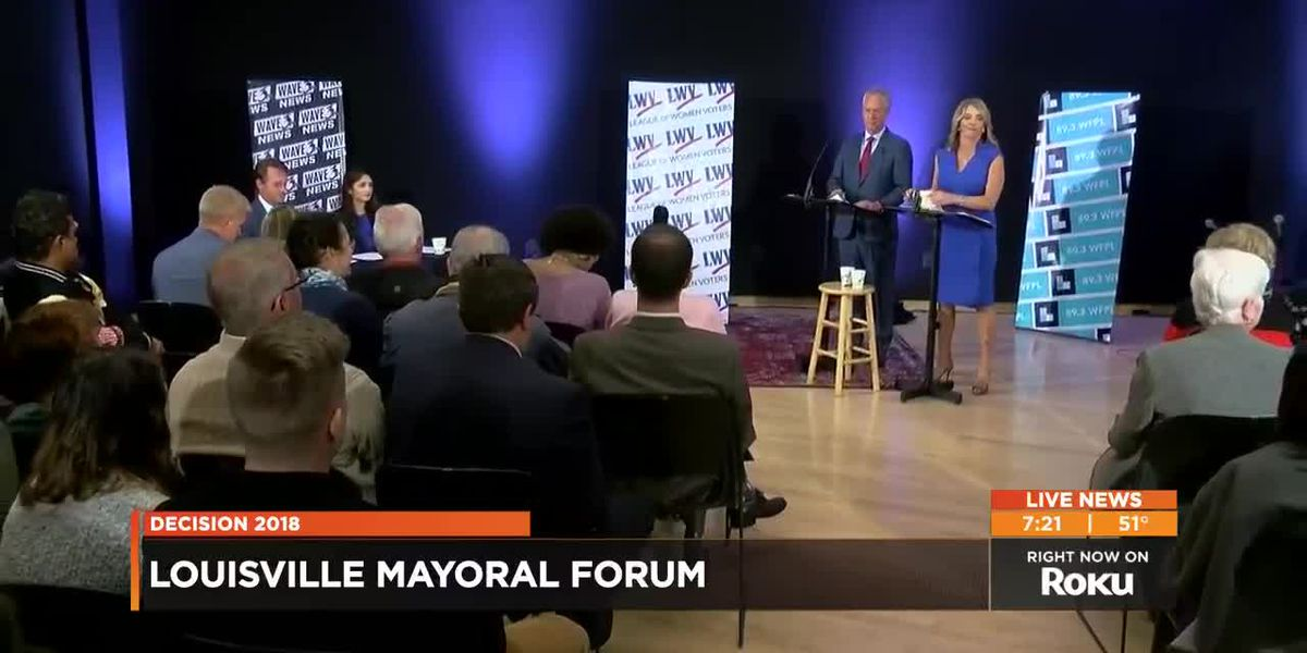 VIDEO: Fischer, Leet debate key issues in mayoral forum