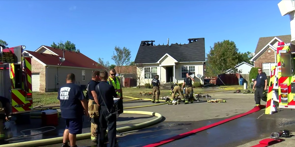 Large family escapes house fire near Buechel