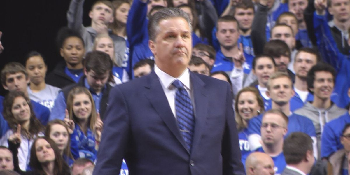 Coach Cal with a lottery lesson for the Cats