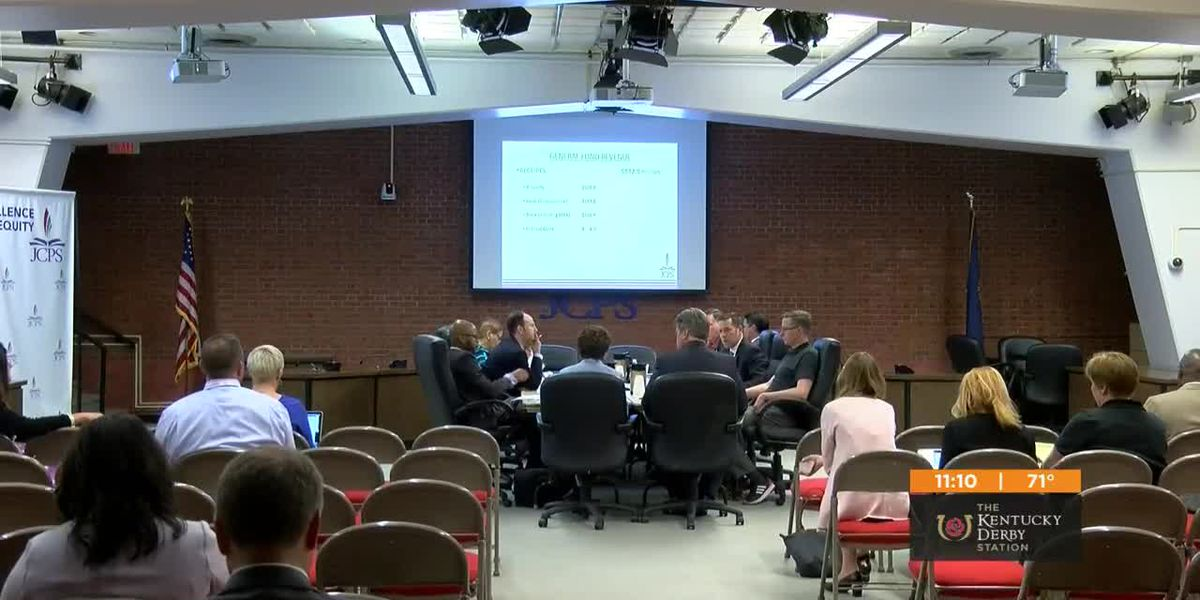 JCPS board makes tentative plans for $1.7 billion budget