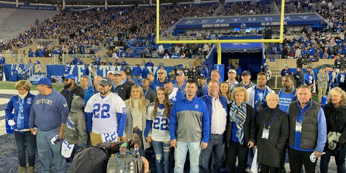 Homecoming for University of Kentucky honors former QB Jared Lorenzen
