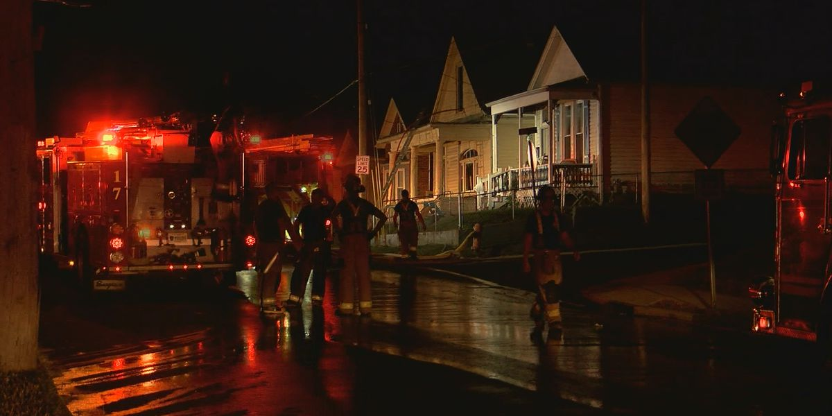 Arson investigating early morning house fire in Algonquin neighborhood
