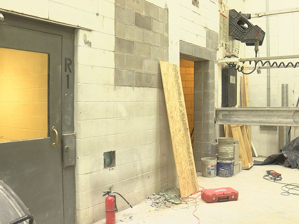 Crews renovating Floyd County Jail improve building, expand facilities
