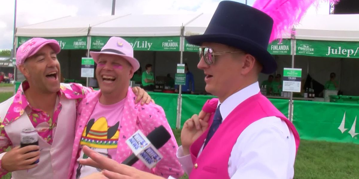 Breast Cancer Awareness behind this quartet's outfits